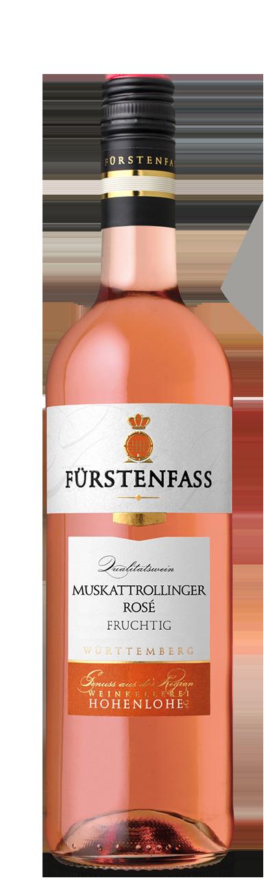 Muskattrollinger Rosé fruchtig